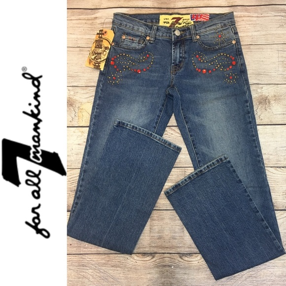 7 For All Mankind Denim - NWT 7 For All Mankind Great China Wall Jeans